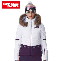Women Waterproof Ski Snow Jacket