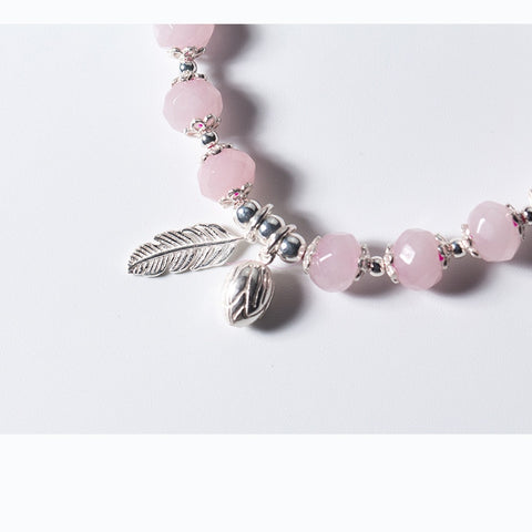Wings Flower Bud Charms Beads