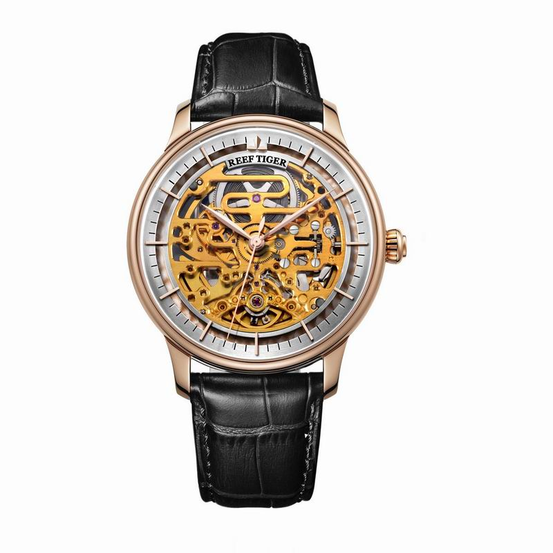 Automatic Designer Skeleton Watch