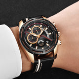 LIGE Top Brand Luxury Men's Military Sports Watch