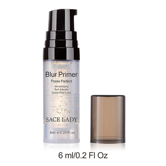 Blur Primer Makeup Base 6ml Face 24k Gold Elixir Oil Control Professional Matte