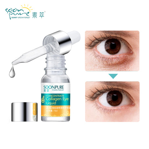 Image of 2PCS Concentrated Collagen + Hyaluronic Acid Eye S Ageless Anti Wrinkle Skin Care Care
