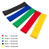 Elastic Resistance Bands Workout Rubber Loop For Fitness