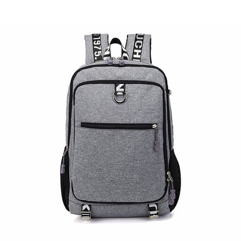 Youth Fashion Oxford Casual Laptop Backpack