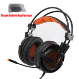 Casque 7.1 Surround Sound Stereo USB Game Headset with Microphone