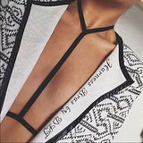 Sexy Bra Body Belt Choker Harness Accessories