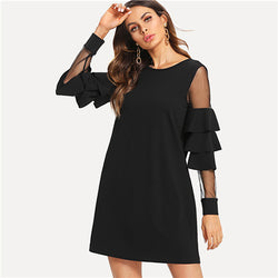Fall Elegant Mini Dress