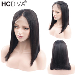 Short Bob Wig Lace Frontal Human Hair Wigs For Black Women