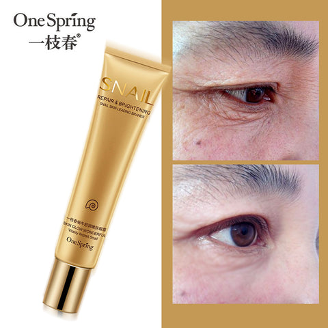 Snail Essence Repair Eye Cream Whitening Moisturizing Anti-aging Wrinkle Remove Dark Circles Eye Care