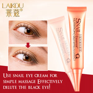 Snail Repair Eye Cream Essence Moisturizer Natural Anti-Aging Anti-Puffiness Wrinkle And Dark Circle Cream Skin Care