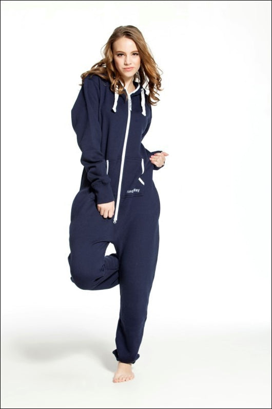 Solid Adult Onesie All in One Piece Jumpsuit