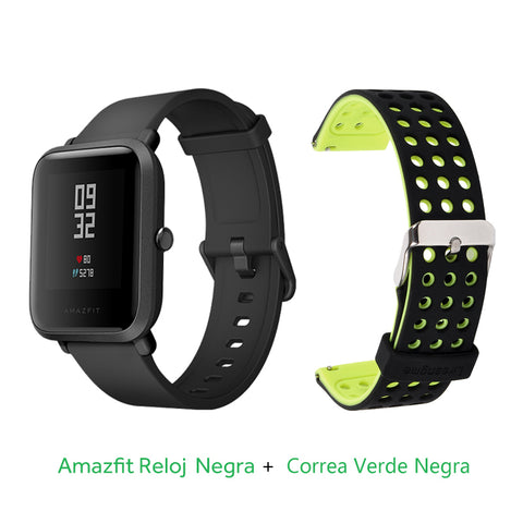 Image of [Spanish Version] 2018 Xiaomi Huami Amazfit Bip Youth (Pace Lite) Smart Watch Bluetooth GPS