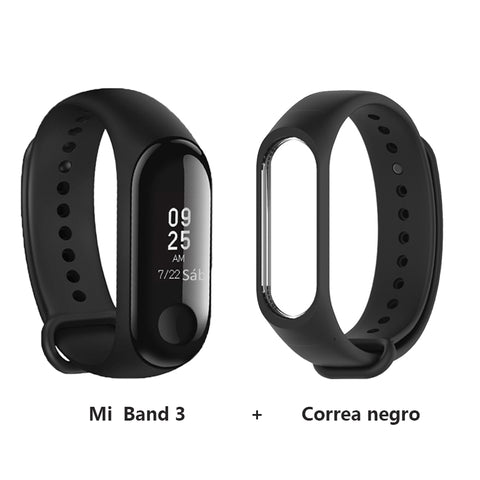 Image of [Spanish Version] Xiaomi Mi Band 3 Smart Bracelet Miband 3 Android Activity 0.78 inch
