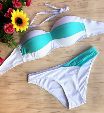 Image of Soft Cups Underwire Bathing Suit