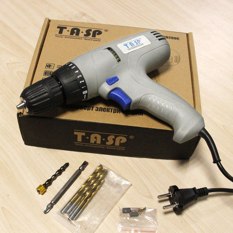 Electric Drill Screwdriver Power Tool Set
