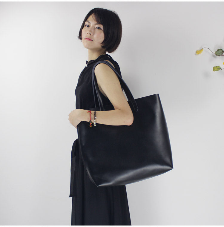 Original Leather Handmade Large Capacity Ladies Tote Bag