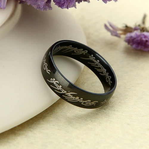 The Lord of the Rings Hobbit Letter Rings