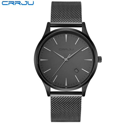 Full Stainless Steel Mesh Strap Business Watches