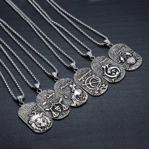 Image of 12 Constellations Necklace