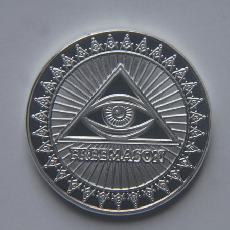 Image of USA The Free And Accepted Masons Commemorative Coins