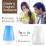 Ultrasonic Humidifier Aromatherapy Oil Diffuser
