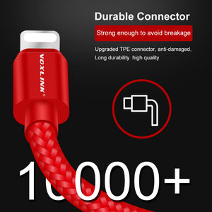1M/3FT USB to Lightning Cable Sync Data Cord For iPhone