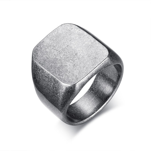 Smooth Rock Punk Cool Individuality Ring