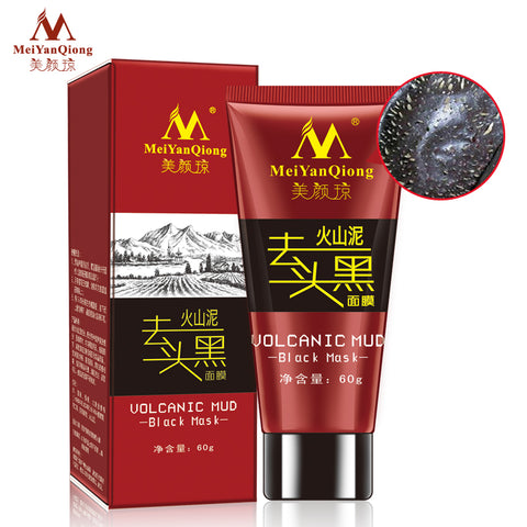 Volcanic Mud Black Mask Face Care Acne Blackhead Removal Treatment Whitening Moisturizing Skin Care