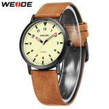 Leather Analog Wrist Watch