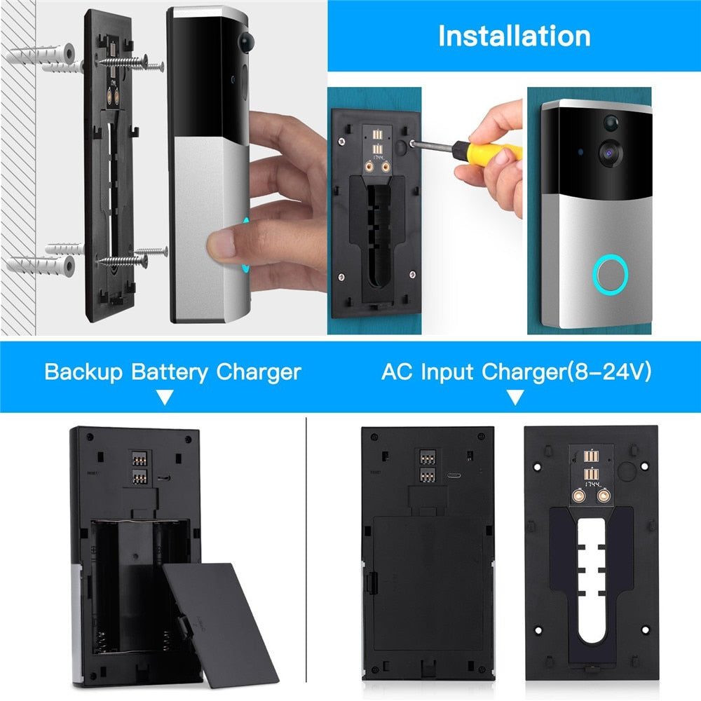 WIFI Video Doorbell Camera Intercom System