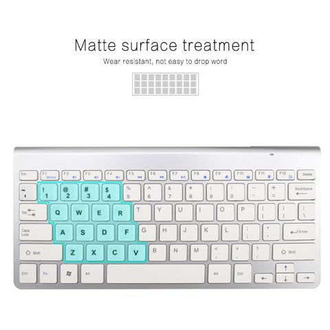 Image of Waterproof Russian Keyboard Stickers English French