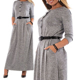 Long Maxi Vintage Oversize Party Dress Plus Size