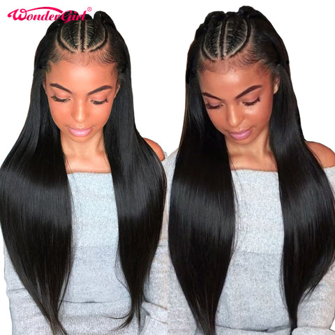 360 Lace Frontal Wig Pre Plucked With Baby Hair Remy Brazilian Human Hair