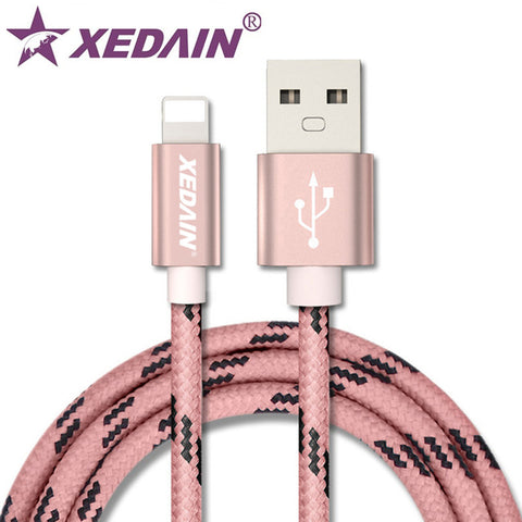 Image of USB Charger Cables For iPhone 5SE 6 7 8 Plus 1M 2M Data Sync Cable For iPad Mini Air 2 3