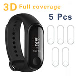 XIAOMI Screen Protector Film For Xiaomi Mi Band 3 Smart Wristband Bracelet Full Cover Protective
