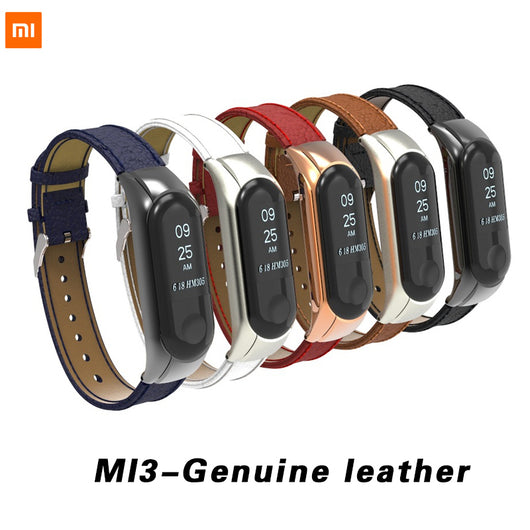 Xiaomi Band 3 Branches Bracelet Band 3 Sport Strap Watch Genuine Leather For Xiaomi Mi Band 3
