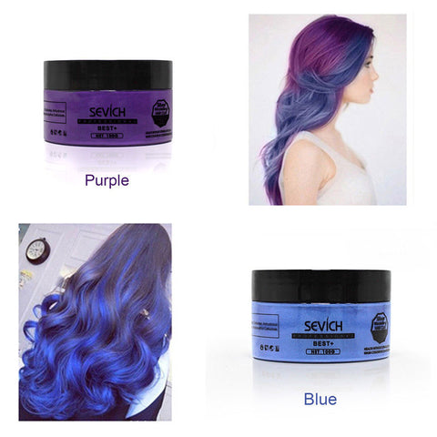 Image of Temporary Hair Color Wax
