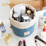 Woman Beautician Cosmetic Bag