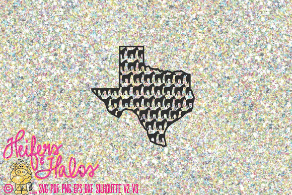 Texas Horse svg cut file for cricut and silhouette.  Great for t-shirts, decals, yeti cups