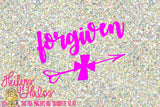forgiven - Heifers and Halos Graphics