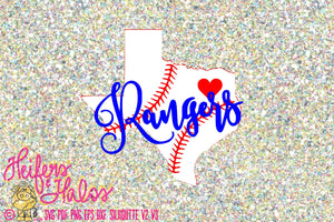 photo regarding Texas Rangers Schedule Printable identify Texas Rangers Baseball with baseball place of Texas best for t shirts or decals electronic slash document, sublimation, printable svg, png additional