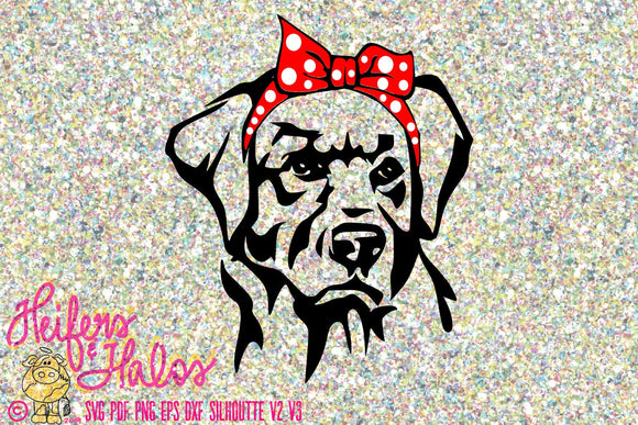 Bandana lab 2 digital file, digital cut file, sublimation, printable, svg, pdf, png, eps, dxf, cricut, silhouette, t-shirt design - Heifers and Halos Graphics