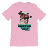 Possible Harley Jo Chaffin Bella Canvas Short-Sleeve Unisex T-Shirt - Heifers and Halos Graphics