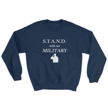 Load image into Gallery viewer, STAND- Military PlainSweatshirt