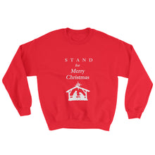 Load image into Gallery viewer, STAND- Christmas Sweatshirt