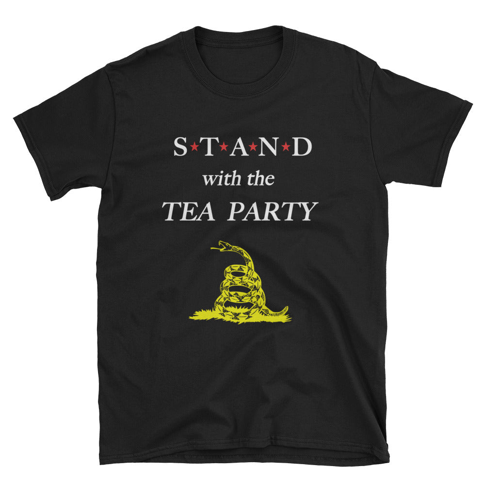 STAND- Tea Party Yellow Short-Sleeve Unisex T-Shirt