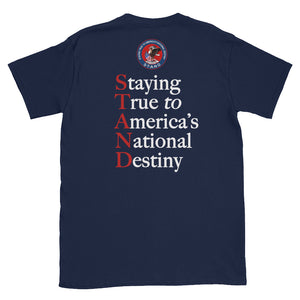 STAND-Constitution Red Short-Sleeve Unisex T-Shirt