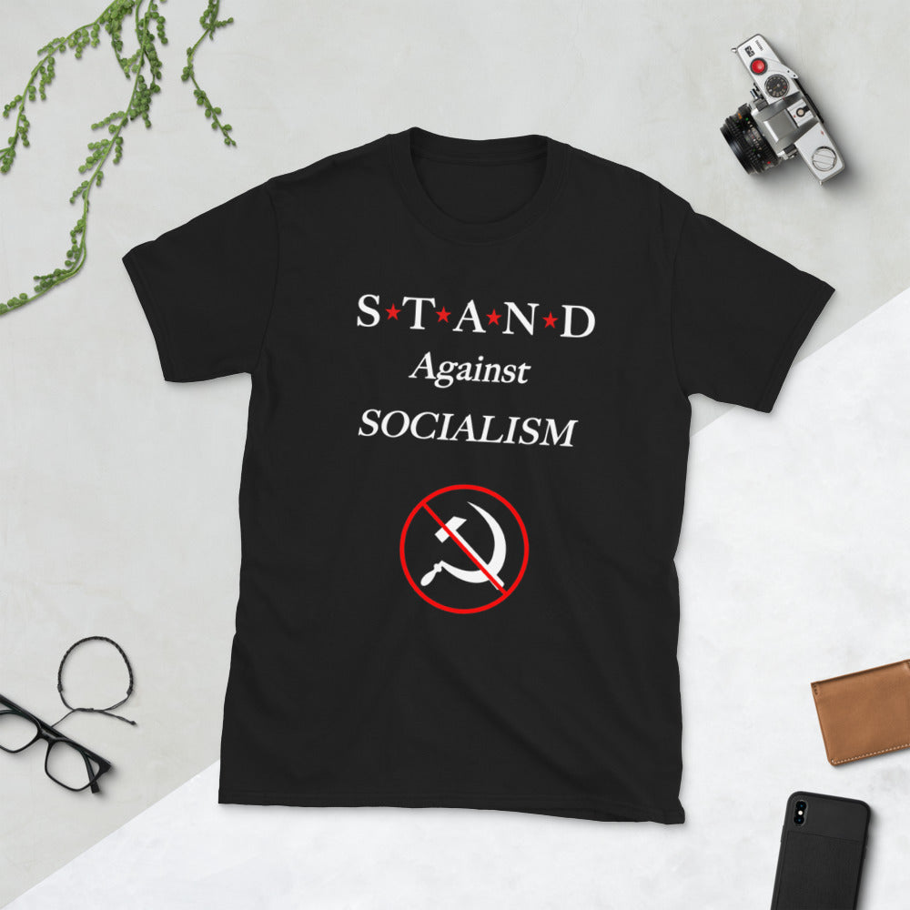 Against Socialism Short-Sleeve Unisex T-Shirt