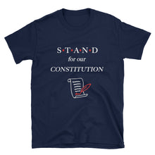 Load image into Gallery viewer, STAND-Constitution Red Short-Sleeve Unisex T-Shirt