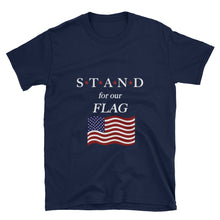 Load image into Gallery viewer, STAND- Flag Star Short-Sleeve Unisex T-Shirt